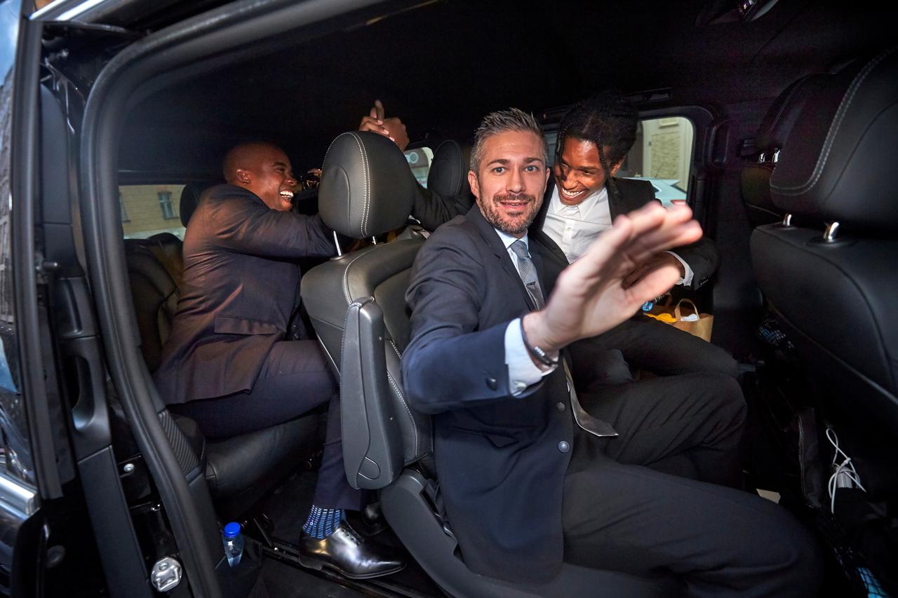 ASAP Rocky nach seiner Freilassung in Schweden