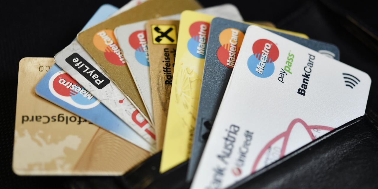 Ein Foto von Bankomat-Karten