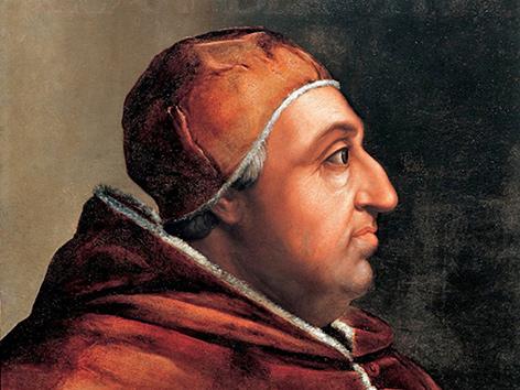 Porträt von Papst Alexander VI. von Cristofano dell'Altissimo (1525–1605)