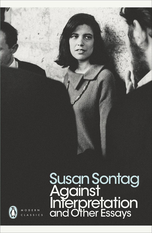 """Buchcover """"Against Interpretation"""" von Susan Sontag"""