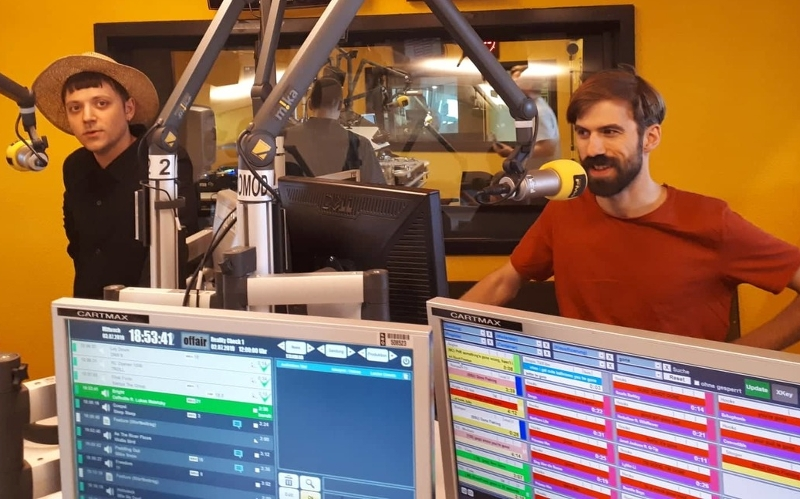 Oehl, studio interview FM4