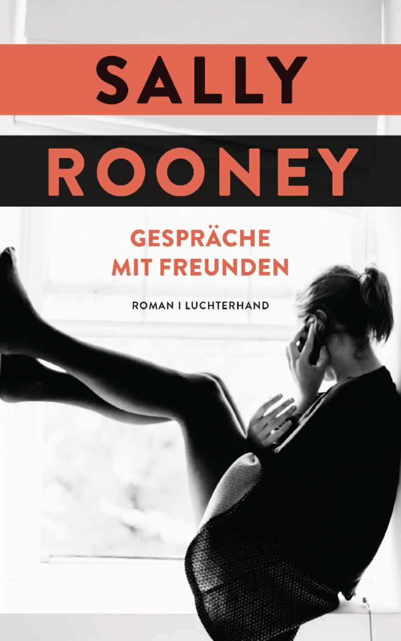 """Buchcover """"Gespräche mit Freunden"""" von Sally Rooney"""