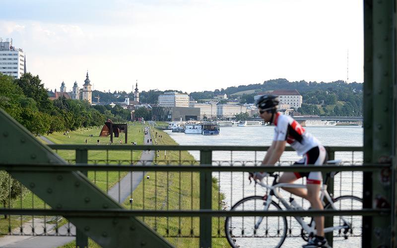 Mehr Radfahren wäre auch in Linz eine Klimaschutzmaßnahme