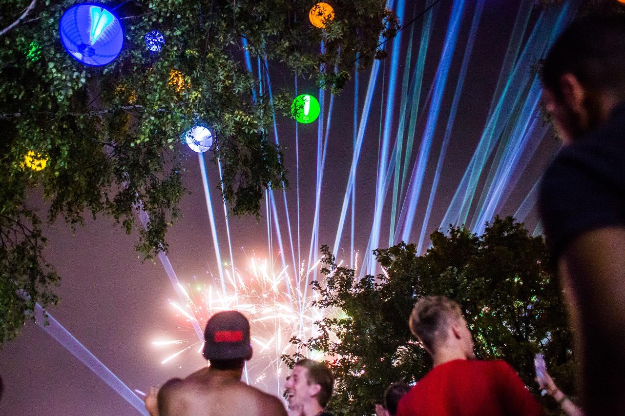 Sziget Festival 2019 Publikums Impressionen