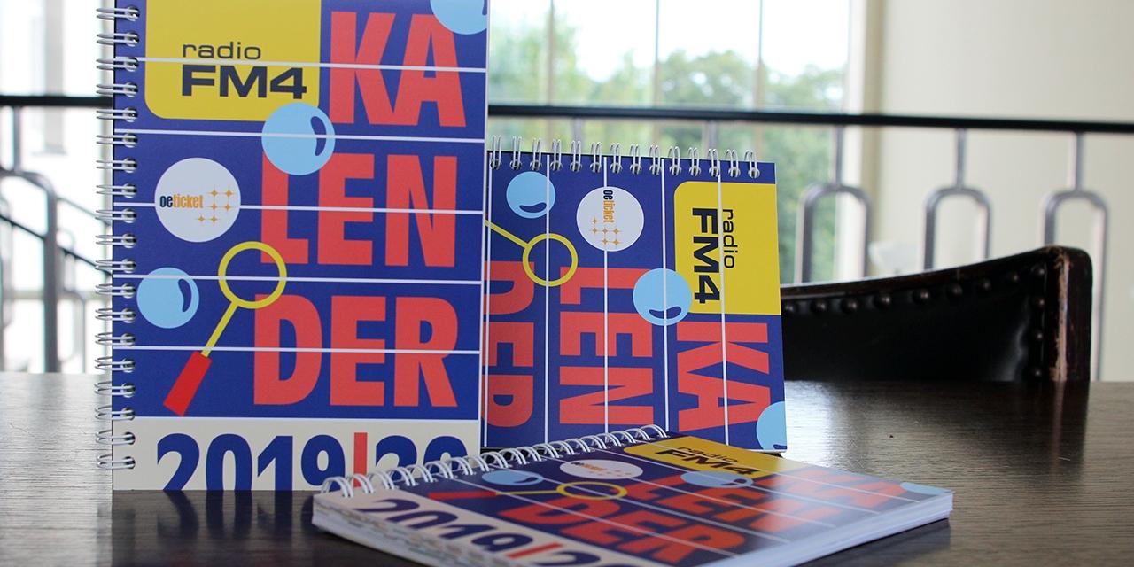 Der FM4 Kalender 2019/2020