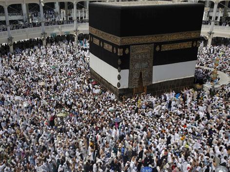 Pilgerströme um die Kaaba