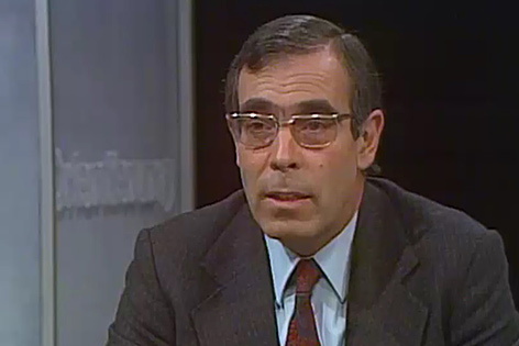 "Peter Krön, erste Moderator der ""Orientierung"""