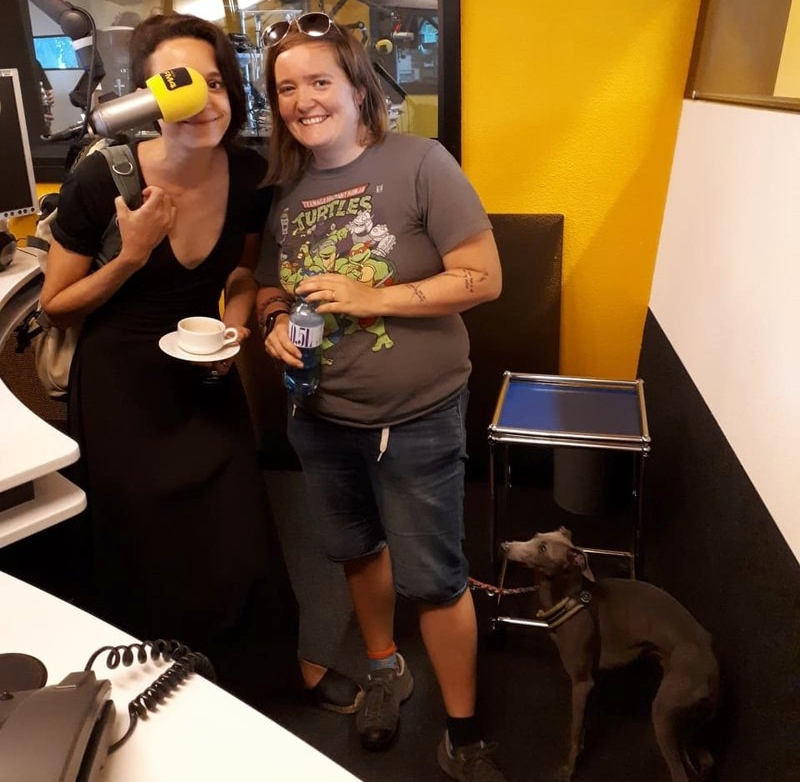 Harpa & Steff from the Home Cafe, studio interview FM4-1