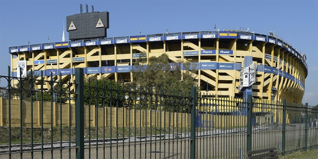 Das Boca-Stadion in Buenos Aires