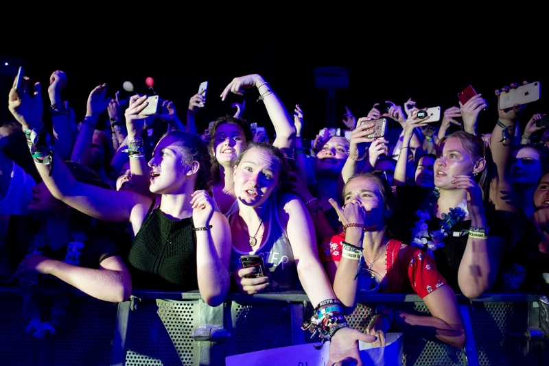 Fans beim FM4 Frequency Festival
