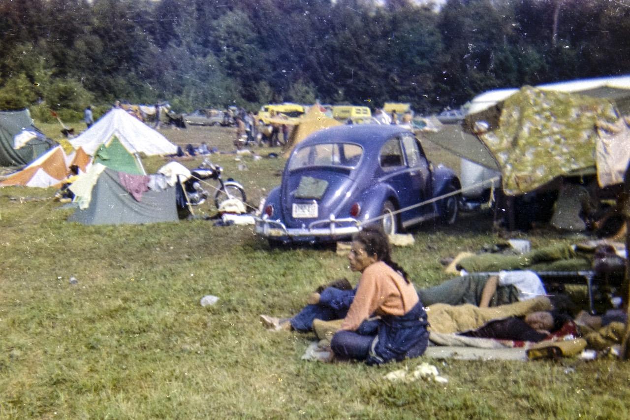 Archivaufnahmen von Woodstock 1969