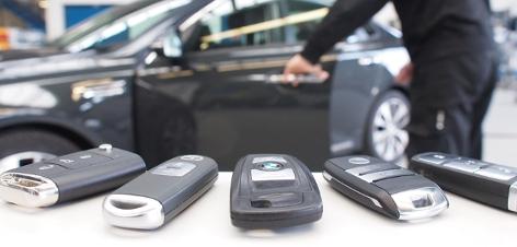 Schlüssellose Systeme verschiedener Automarken