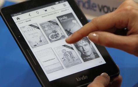 Der E-Book-Reader Kindle von Amazon