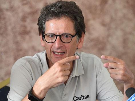 Caritas Auslandshilfechef Christoph Schweifer