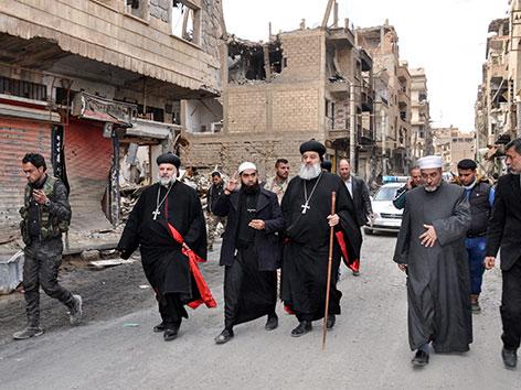 der syrisch-orthodoxe Patriarch  Ignatius Aphrem II.