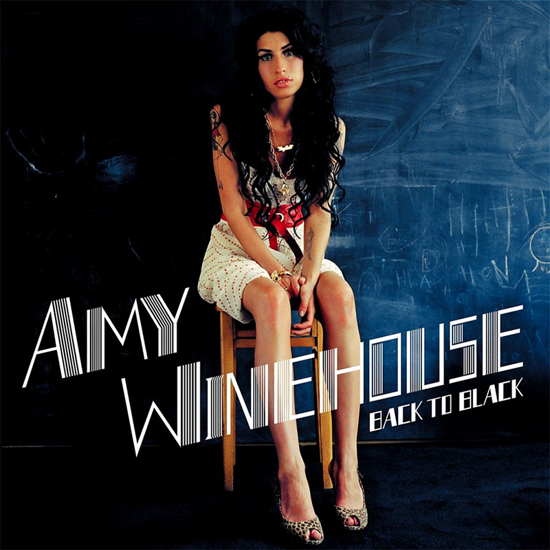 "Albumcover: Amy Winehouse ""Back to black"""