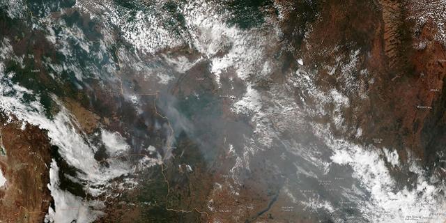 Satellitenbilder von den Bränden im Amazonas