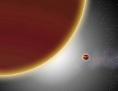 Zwei Planeten kriesen um den Stern Beta Pictoris