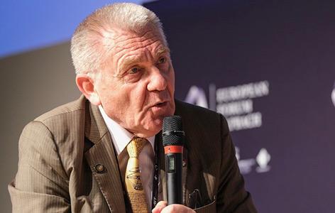 ERC-Präsident Jean-Pierre Bourguignon in Alpbach