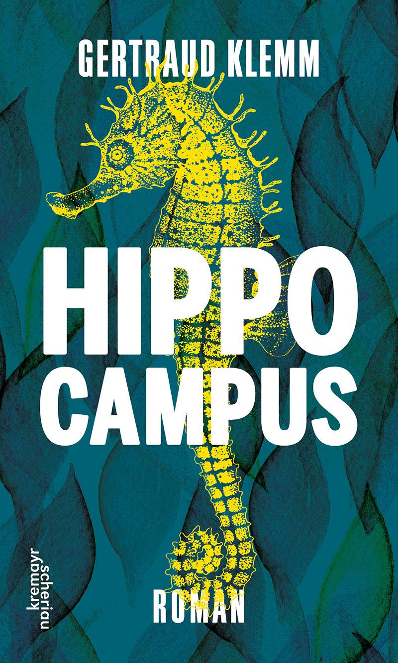 """Buchcover """"Hippocampus"""" von Gertraud Klemm"""
