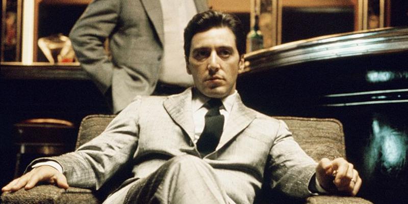 Al Pacino als Michael Corleone und Simonetta Stefanelli als Apollonia