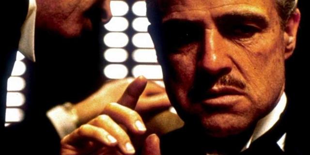 """Marlon Brando als """"Der Pate"""""""