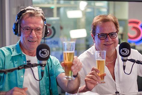 Günter Grasmuck und Ewald Pfleger von Opus