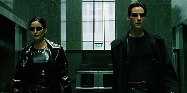 Neo und Trinity in Matrix
