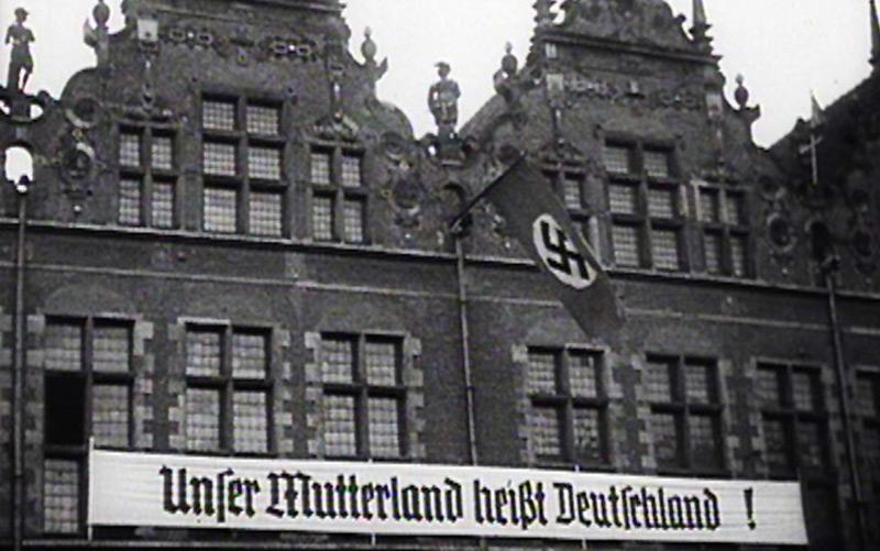 Begrüßung der Deutschen Wehrmacht in Danzig