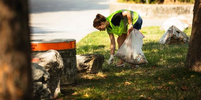 Cleanup auf der Donauinsel