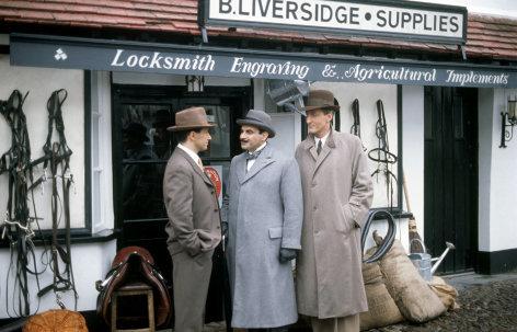 """Agatha Christie's Poirot  Das Rätsel von Cornwall  Originaltitel: Poirot """"The Cornish Mystery"""" (GB 1990), Regie: Edward Bennett"""