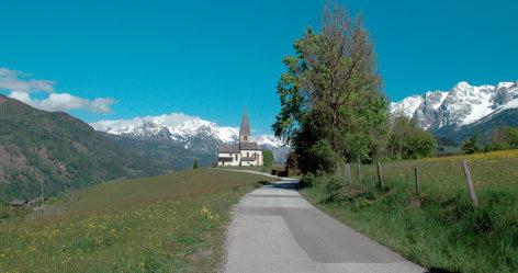 Land der Berge  Hochkönigs Wanderreich - durch wilde Wasser und bunte Erze