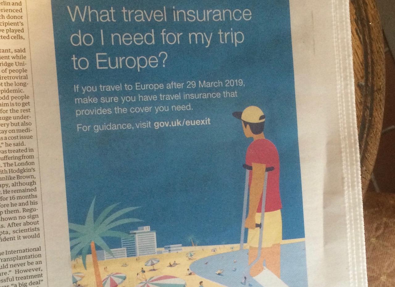 Inserat: Was für eine Reiseversicherung brauche ich für meine Fahrt nach Europa?