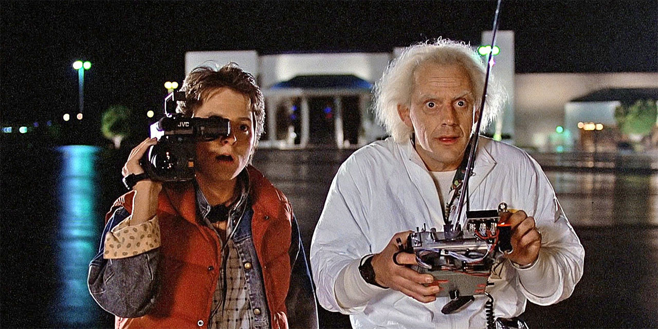 "Filmstill aus ""Back to the Future"""