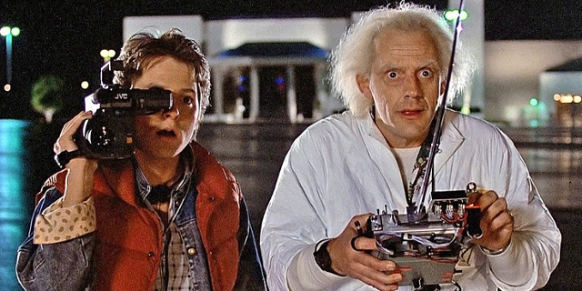 "Filmstill aus ""Back to the Future"""