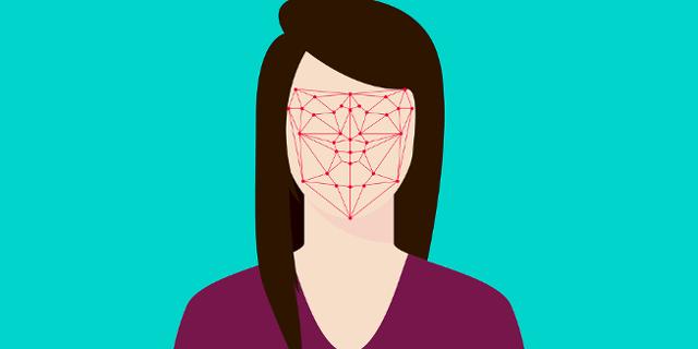 Gesichts Scan Grafik