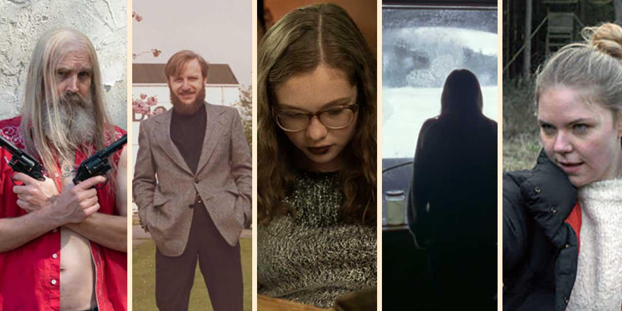 5 Filmstills als Collage