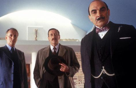 """Agatha Christie's Poirot  Dreizehn bei Tisch  Originaltitel: Poirot """"Lord Edgware Dies"""" (GB 2000), Regie: brian farnham"""