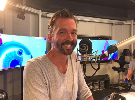 Christoph im Studio