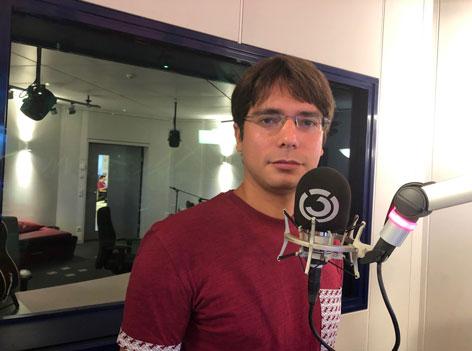 Daniel im Studio