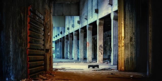 Foto von einer leeren Halle