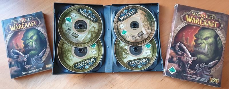 Original WoW Package von 2004