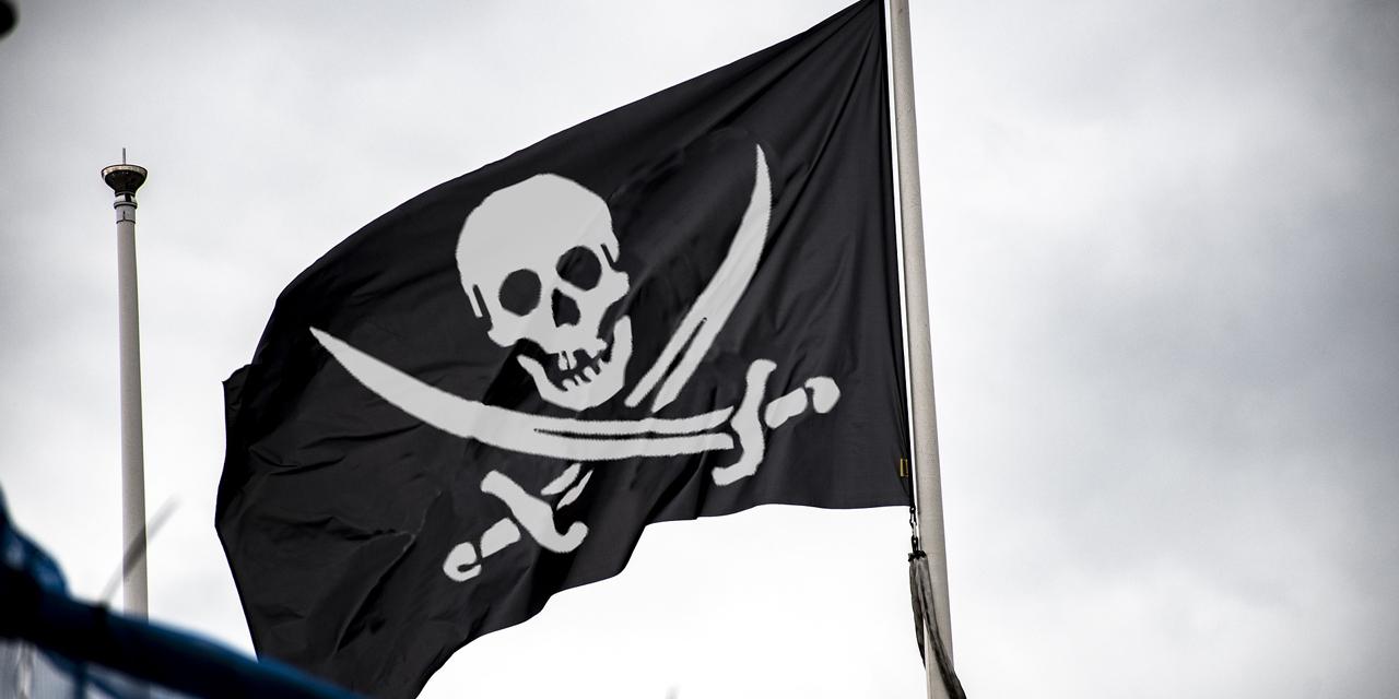 Foto von einer Piraten-Flagge