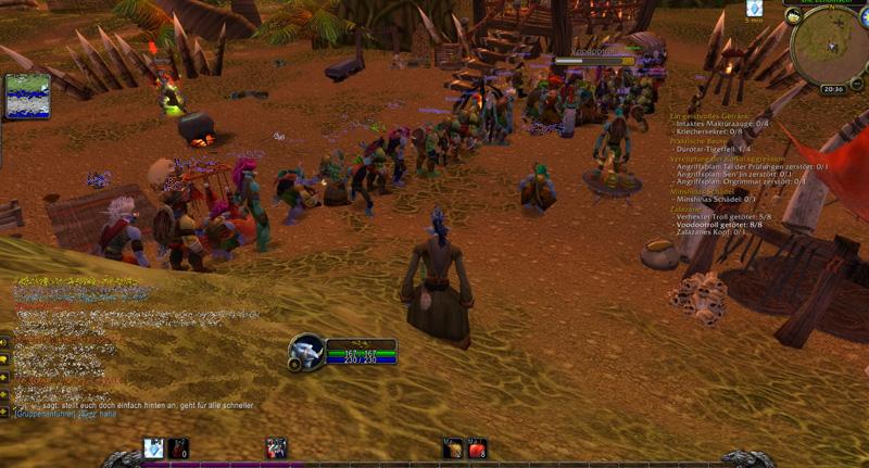 Warteschlange in World of Warcraft Classic