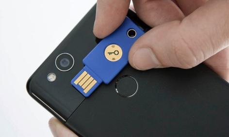 Password-Security-Token von YubiKey