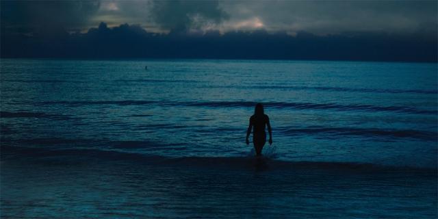 Iggy Pop im Meer