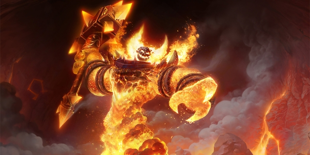 World of Warcraft Feuermonster