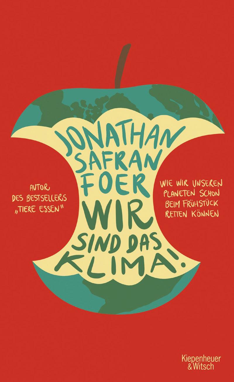 """Buchcover """"Wir sind das Klima"""" von Jonathan Safran Foer"""