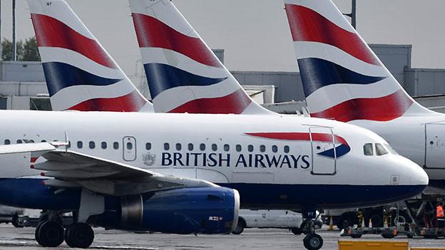 British Airways Flugzeug