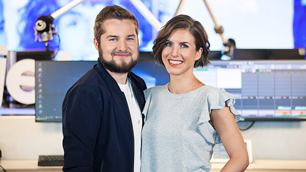 Christina Pausch und Tarek Adamski